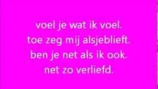 Jordy van Loon - Een kusje voor jou - Songtekst/Lyrics