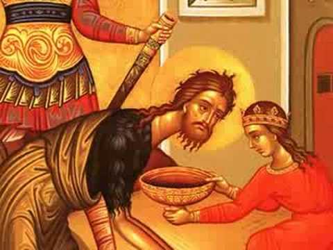 Image result for beheading of john the baptist