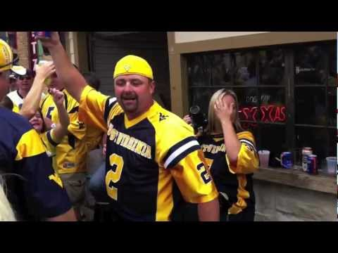 "West Virginia Fans Sing ""Country Roads"""