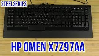 Розпакування л. с. Омен з SteelSeries USB чорний X7Z97AA Укр