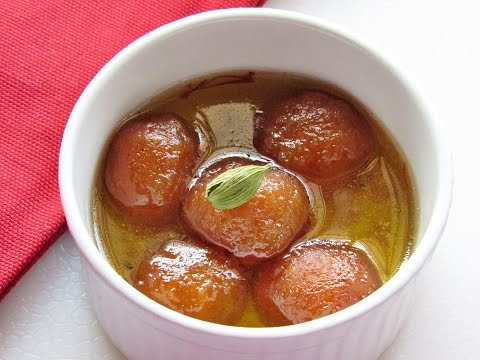 Instant Bread Gulab Jamun Recipe - Instant Gulab Jamun - Indian Sweets  | Nisa Homey