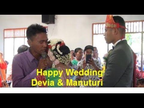 Lagu Burju Marsimatua , Pernikahan Adat Batak bikin terharu