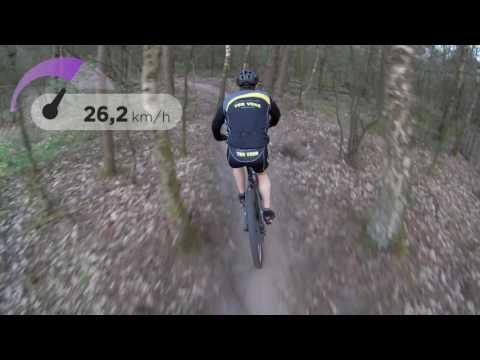 Mountainbike parcours Zeist
