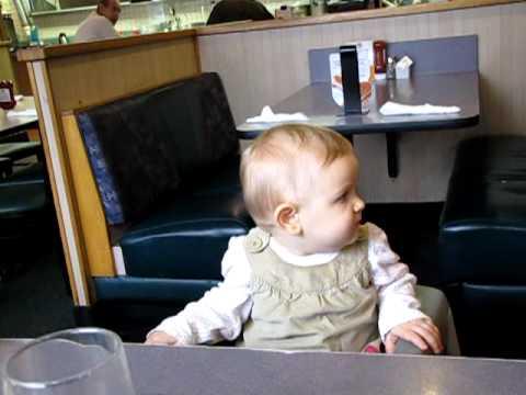 Rachael at Denny's