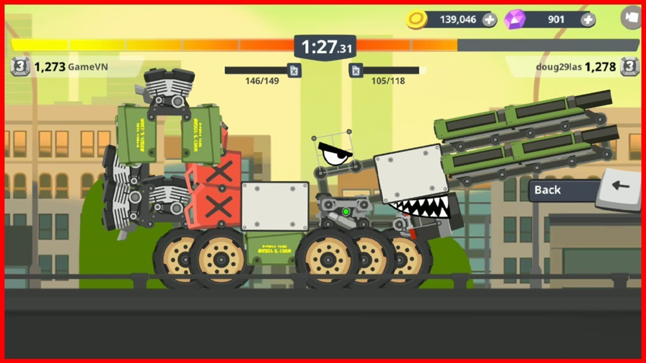 Super Tank Rumble : Tank M1A2 | Improved M1A2 Tank [GameVN]