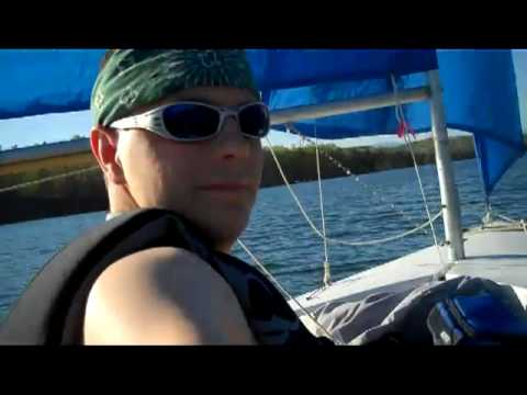 Hobie Holder 12 sailing Lake Keowee