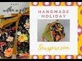 🎄 Sewspire Handmade Holiday  🎁  How to sew a fabric gift box