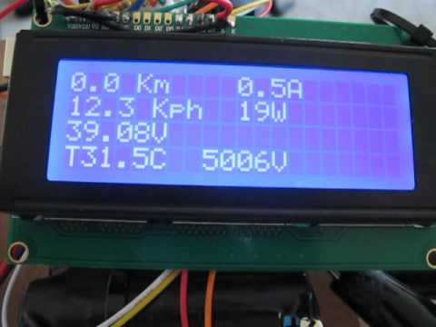 Arduino Electric Bicycle Computer Youtube