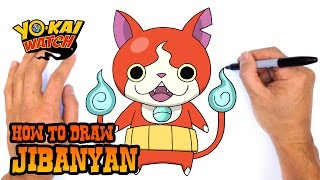 How to Draw Jibanyan | Yo-Kai Watch