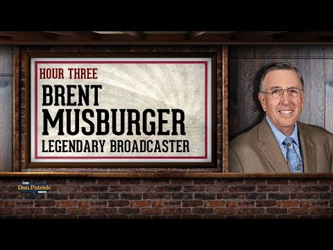 Brent Musburger Talks Raiders, Sports Gambling & More w/Dan Patrick | Full Interview | 7/24/18