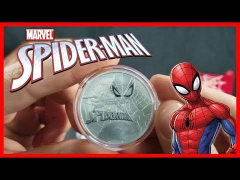The Marvel Spider-Man Silver Bullion Coin! | A Perth Mint STUNNER!
