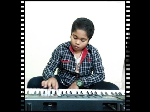 pilla nuvvu leni jeevitham title song on keyboard tutorial by Hrishik