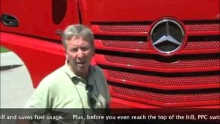 The New Mercedes-Benz Actros 1845 Euro 6 - tested by Blickpunkt LKW & BUS