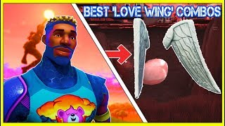 15 BEST SKINS With 'LOVE WING' BACKBLING In FORTNITE!