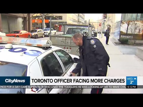 Toronto Police Officer Faces More Disciplinary Charges