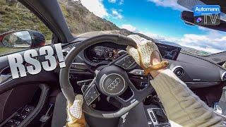 Audi RS3 Sedan - FAST Handling DRIVE (60FPS)