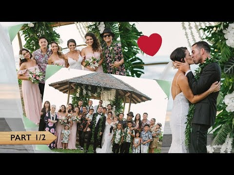 Jessica Caban And Bruno Mars At Tahiti And Billy Wedding [PART 1/2]