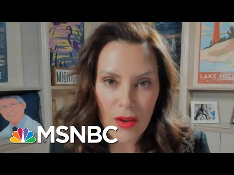 MI Governor Gretchen Whitmer Speaks About Her State's Covid Response Amid Surge In Cases | MSNBC