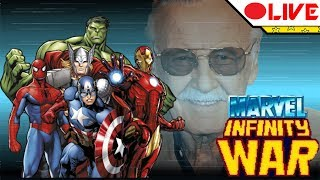 🔴 MARVEL INFINITY WAR - Obrigado Stan Lee