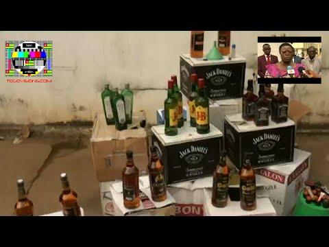 Alcool spiritueux contrefait:  découverte d'un atelier de fabrication à Tokoin Gbadago