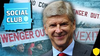 ARSENAL FAN TV REACT TO WENGER NEW CONTRACT #ASKTHECLUB | SOCIAL CLUB