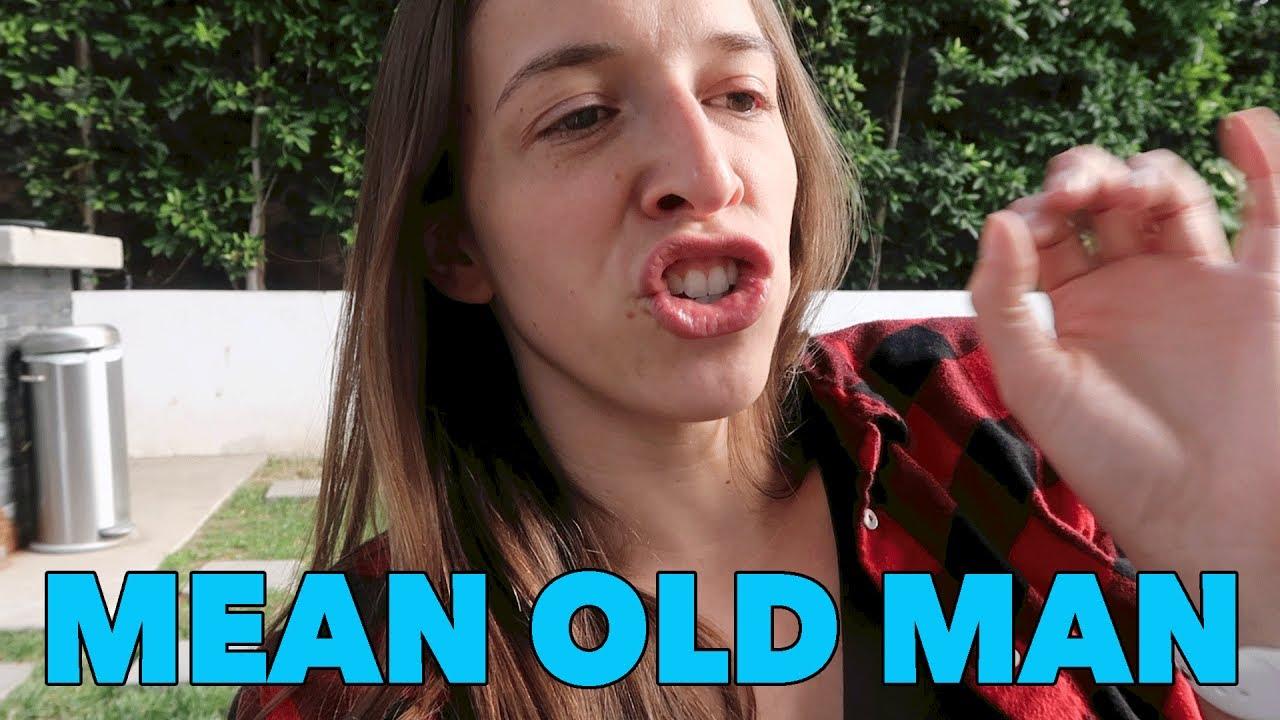 Mean Old Man!