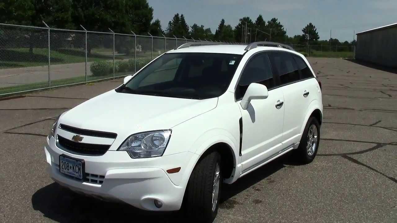 2013 Chevrolet Captiva Sport Fwd Lt Youtube