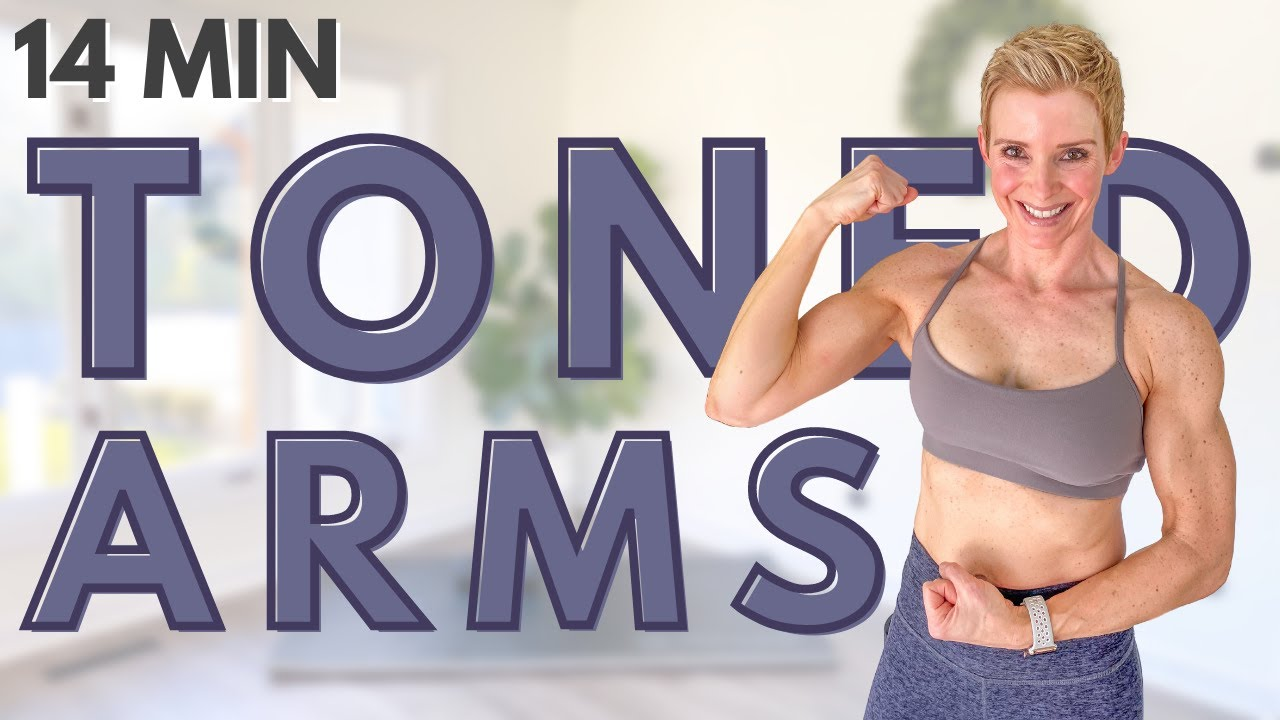 ARMS WORKOUT to Tone Your Upper Body with Dumbbells