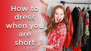 How to dress when you are short - style tips for women over 40
