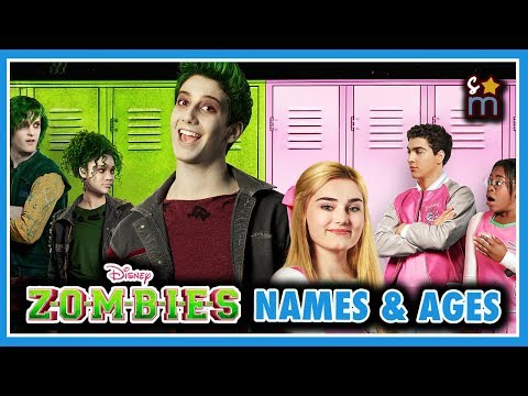 Disneys ZOMBIES Cast Real Name & Age
