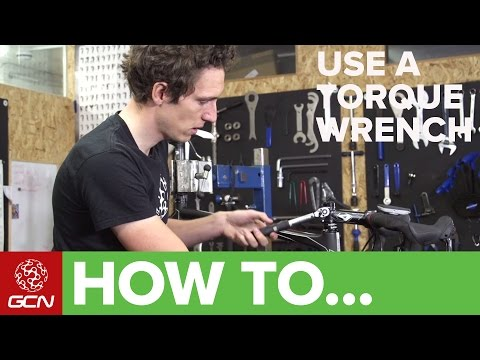 How To Use A Torque Wrench – GCN's Guide To Tightening Bolts Safely