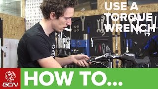 How To Use A Torque Wrench – GCN