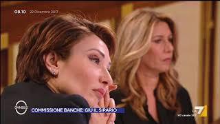 Omnibus - Commissione Banche: giù il sipario (Puntata 22/12/2017)
