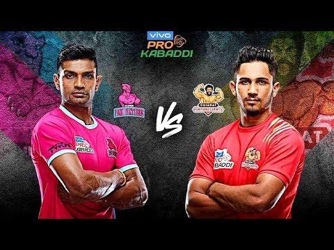 Download Watch Pro Kabaddi 2019: Jaipur Pink Panthers vs Gujarat Fortunegiants | Sports Tak