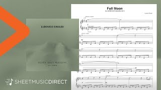 Full Moon Sheet Music - Ludovico Einaudi - Piano Solo Seven Days Walking Day 3