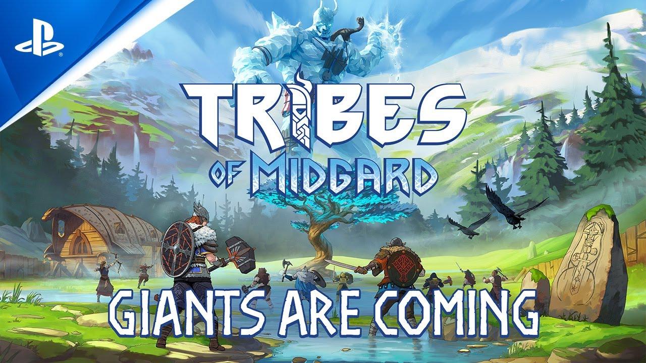 العرض التشويقي لـ Giants Are Coming للعبة Tribes of Midgard