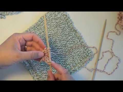 Où trouver des modèles de lavette ou torchon à vaisselle à tricoter ?
