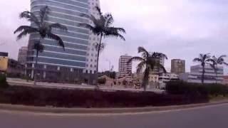 a caminho da Ilha de Luanda, Angola