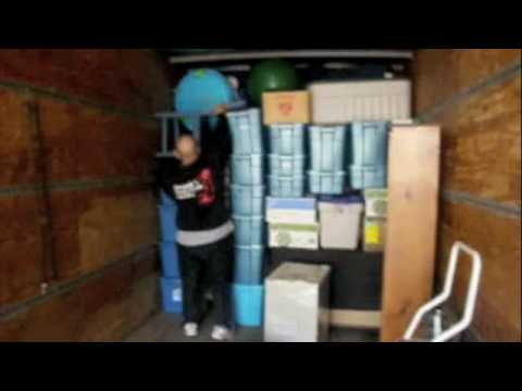How Franks Worldwide Moving Packs A Moving Truck Youtube