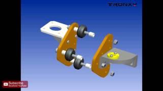 tronxy x3 desktop high accuracy lcd screen 3d printer kit assemble the tutorial