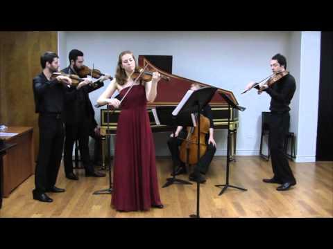 Vivaldi Concerto RV 222, movement 2 Andante