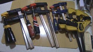Обзор моих Струбцин Stanley, Yato, Vorel, Fit. Как выбрать качественный инструмент.