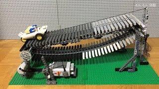 LEGOで動力が付いていない船が川をさかのぼれるか実験した thumbnail