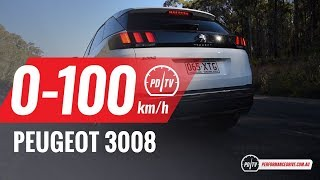 2018 Peugeot 3008 Allure (1.6T) 0-100km/h & engine sound