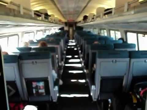 video Tren Amtrak de Boston a NY