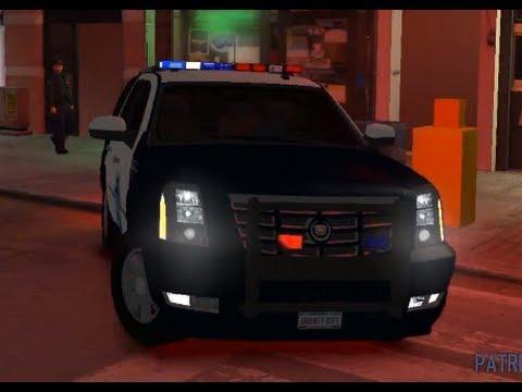 gta4 police car Cadillac Escalade Police - YouTube