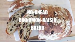 How to Make No Knead Raisin Bread
