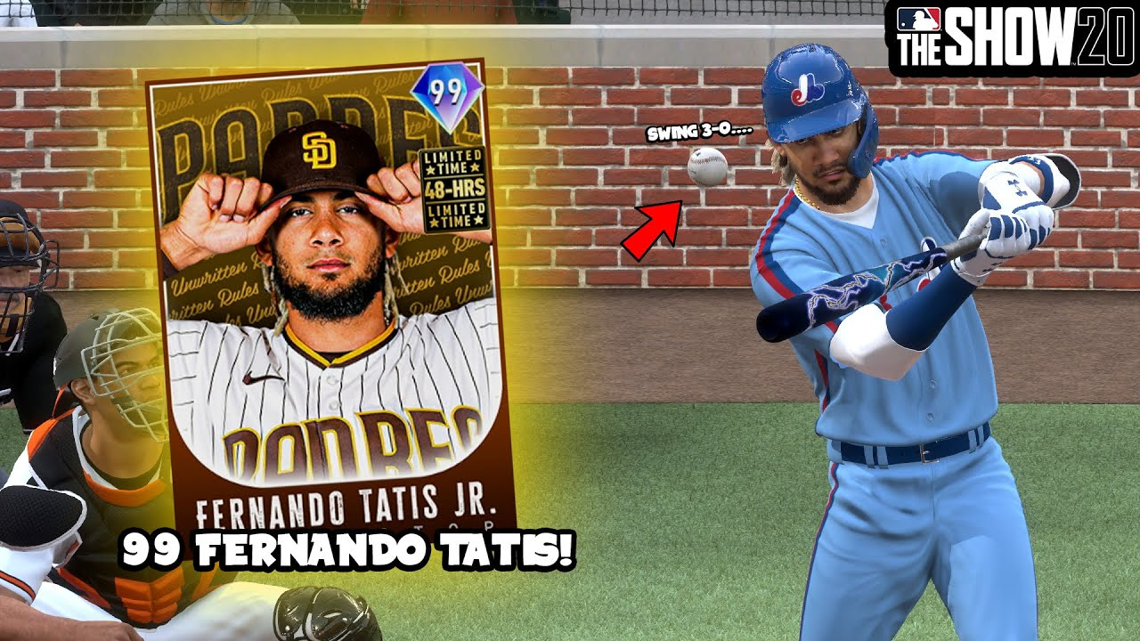 99 LIMITED TIME FERNANDO TATIS?!?!? - MLB THE SHOW 20 DIAMOND DYNASTY #36 -  YouTube