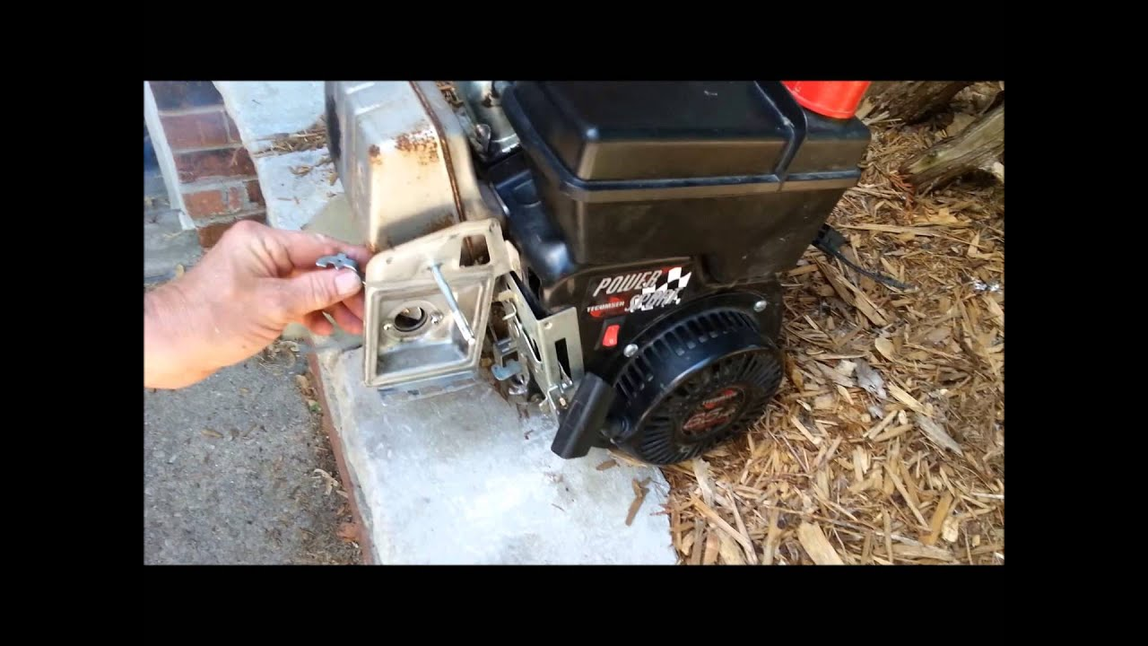 maxresdefault tecumseh power sport 6 5 hp engine running youtube  at bakdesigns.co