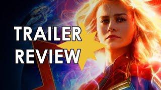 Captain Marvel: Trailer 2 Review [MCU Movie Reaction]